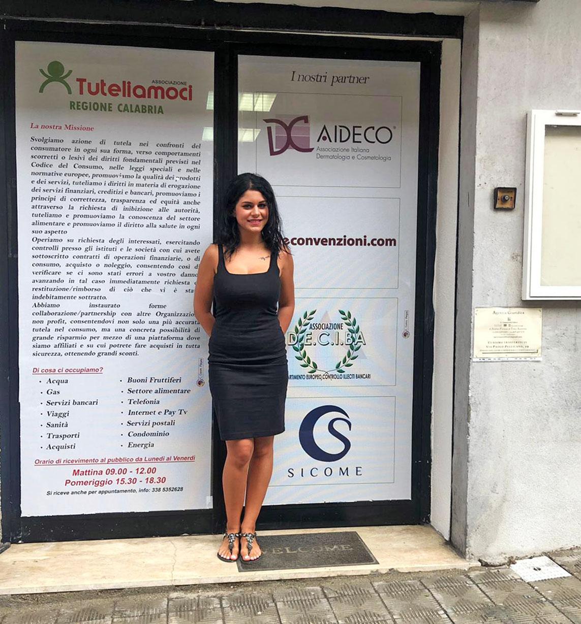 La nuova sede per la Calabria dell'associazione Tuteliamoci